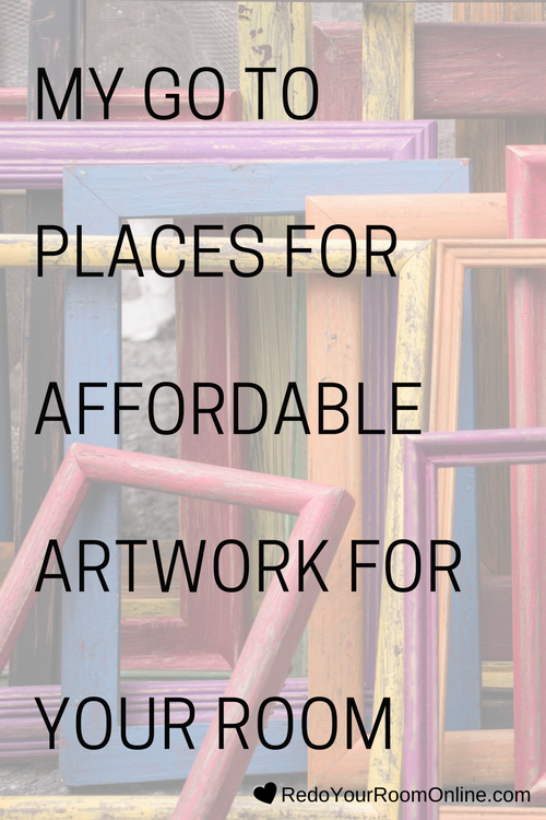 My Go To Places For Affordable Artwork For Your Room, Buying artwork for your room doesn't have to leave you broke. It really doesn't, especially if you created a decorating budget. You just have to know where to go to make your money stretch and in my opinion, artwork shouldn't have to be one of those places where you throw all your money. I mean unless you're some rich Beverly Hills Housewife and have a shit ton of money to splurge, which I'm sure you aren't because you are my kind of people. One way to save money on artwork is to go with a poster, print, or printable, which are all way cheaper than an original painting (way way cheaper). Click through for the interior design tips.