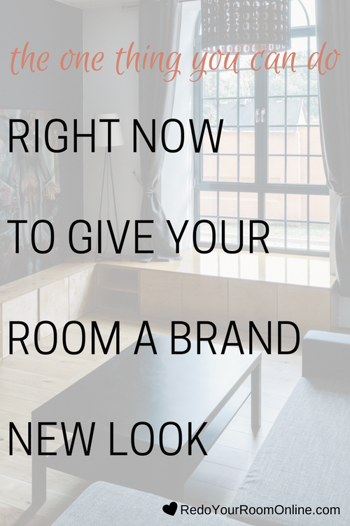 Your room has probably looked the same since you've moved into your place. Now don't feel bad, lot's of people are in the same spot as you, but that doesn't mean that you can't change things around and give your room a brand new look. Click through to see the interior design tip.