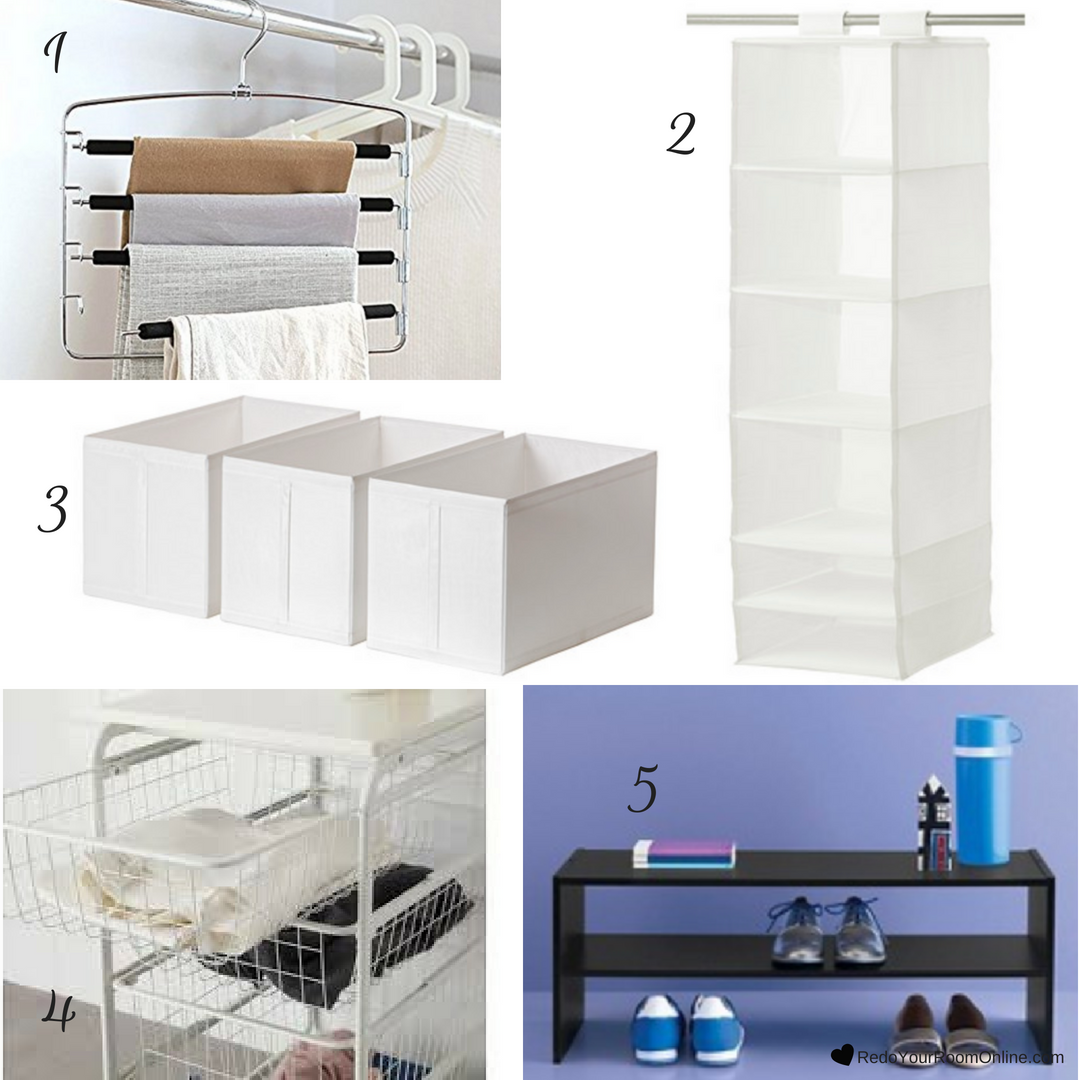 Budget Friendly Pieces for Organizing a Small Closet