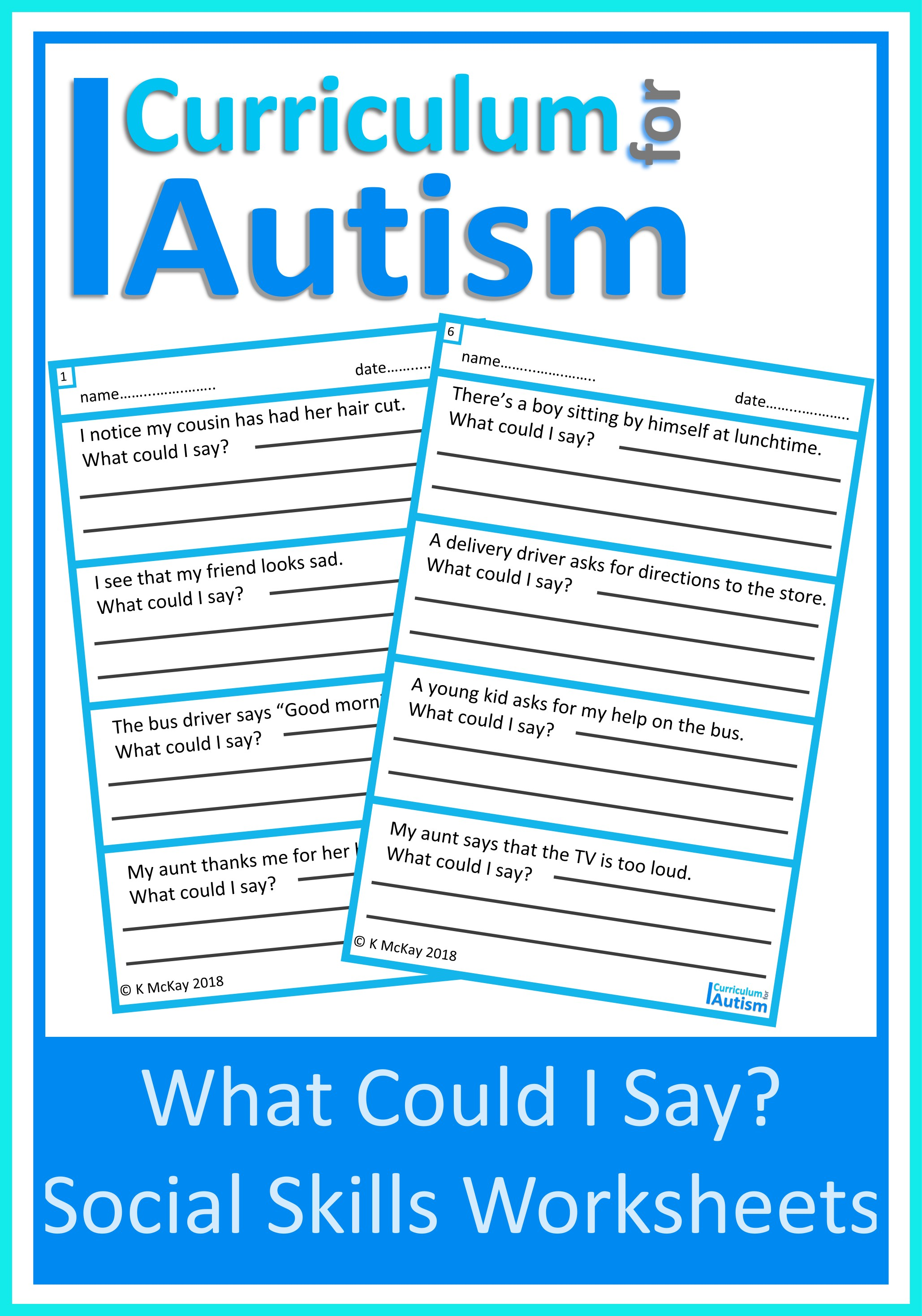 - Social Skills Good Manners Mini Books — Curriculum For Autism