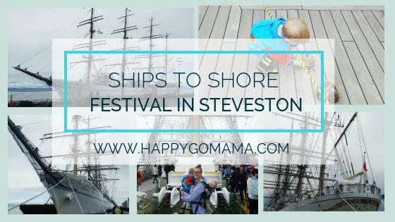 A great outing with kids of all ages, check out the Ship to Shore Festival in Steveston