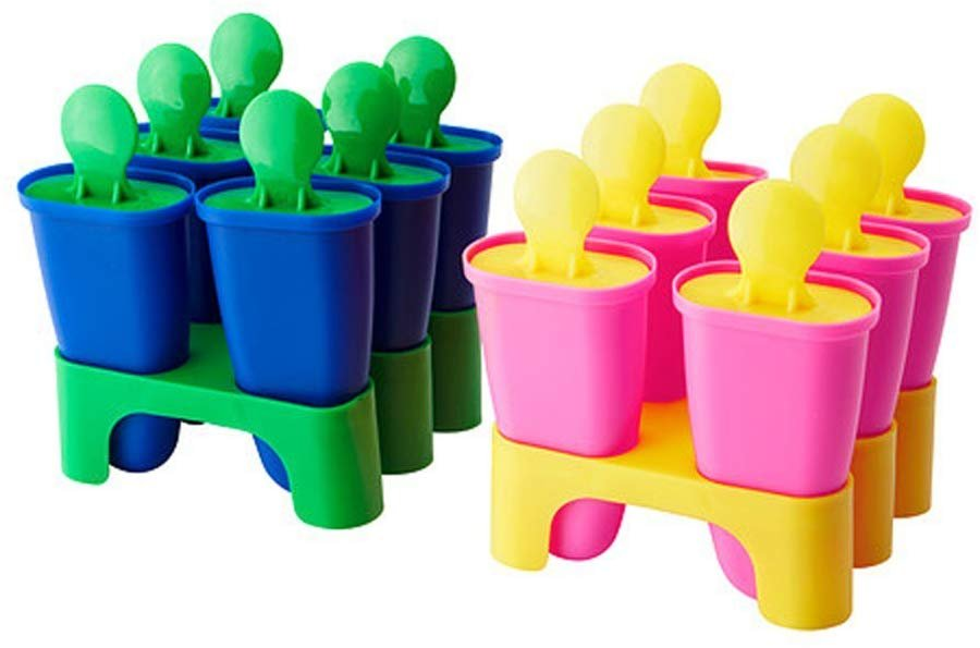 Popsicle molds from Ikea