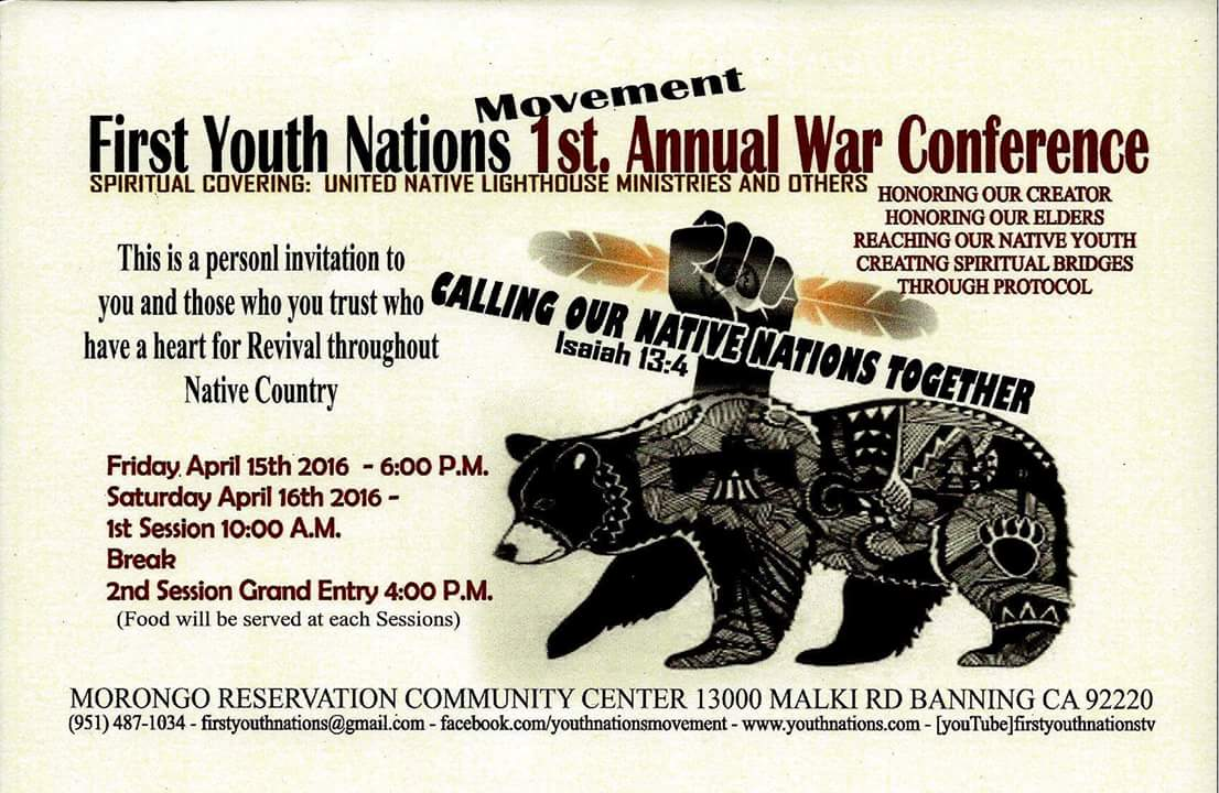 First Youth Nations Conf