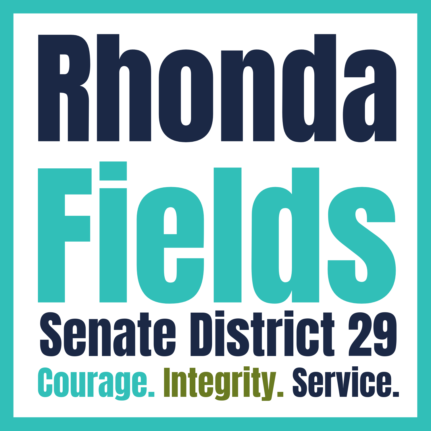 Senator Rhonda Fields