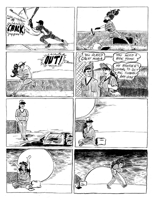 Midwestrn Cuban Comics #8 by Odin Cabal