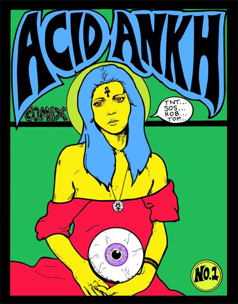 Acid Ankh by Dawn Aquarius