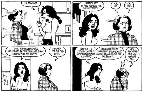 The Love Bunglers by Jaime Hernandez