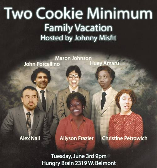 2 Cookie Minimum at the Hungry Brain 6/2/14