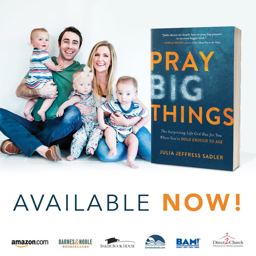 Image result for pray big things julia sadler