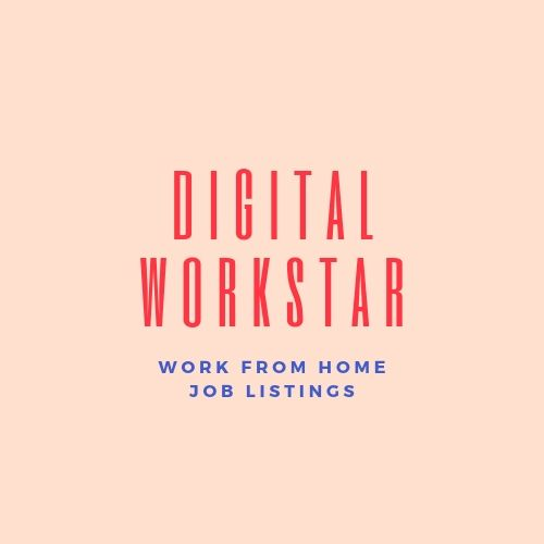 Work from Home Job Leads — Digital Workstar - Work from Home Job
