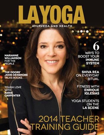 Marianne Williamson-LA-Yoga