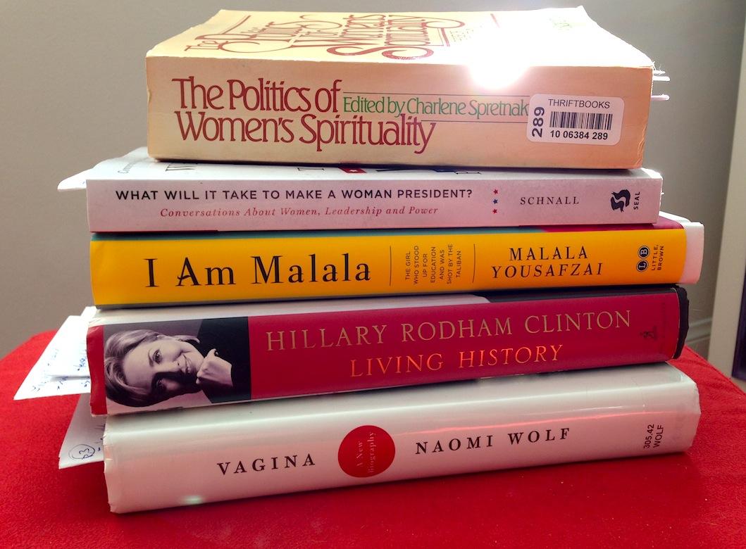 Tabby's Books - Feminine Empowerment Winners