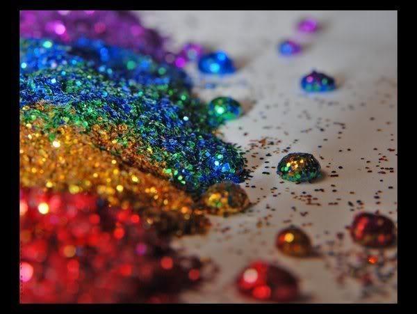 rainbowglitterpiles