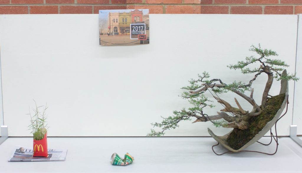"""""""Recycled"""" 3 Point Display - Kunzea ericoides"""