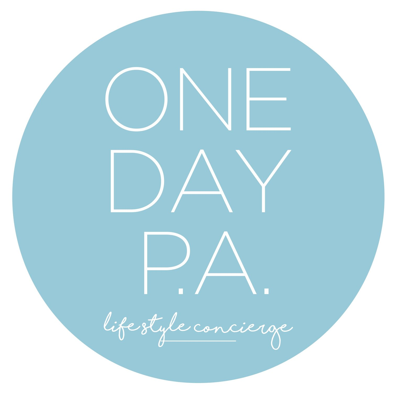 ONE DAY P.A.