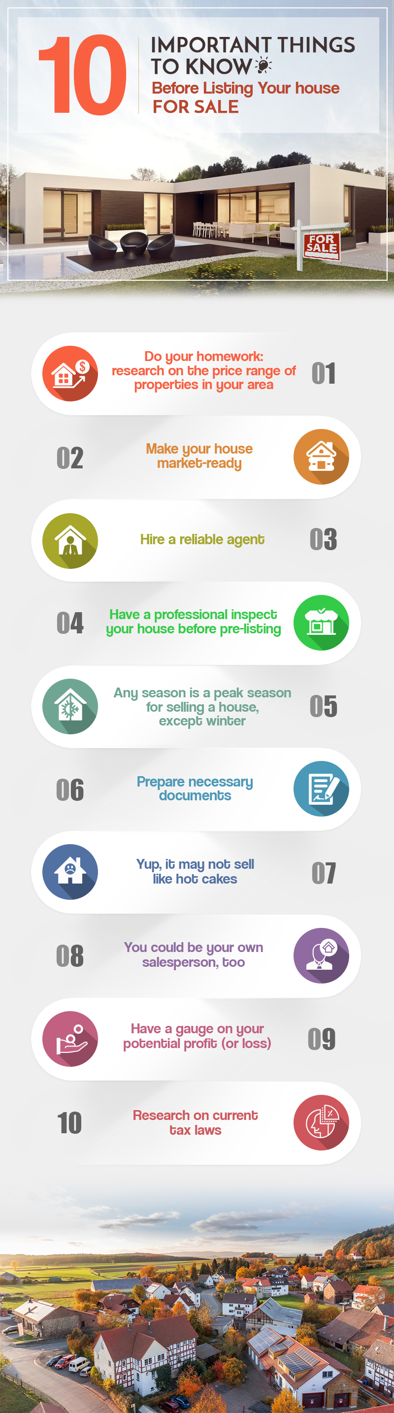 10 Important Things To Know Before Listing Your House For Sale