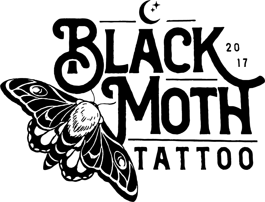 Black Moth Tattoo