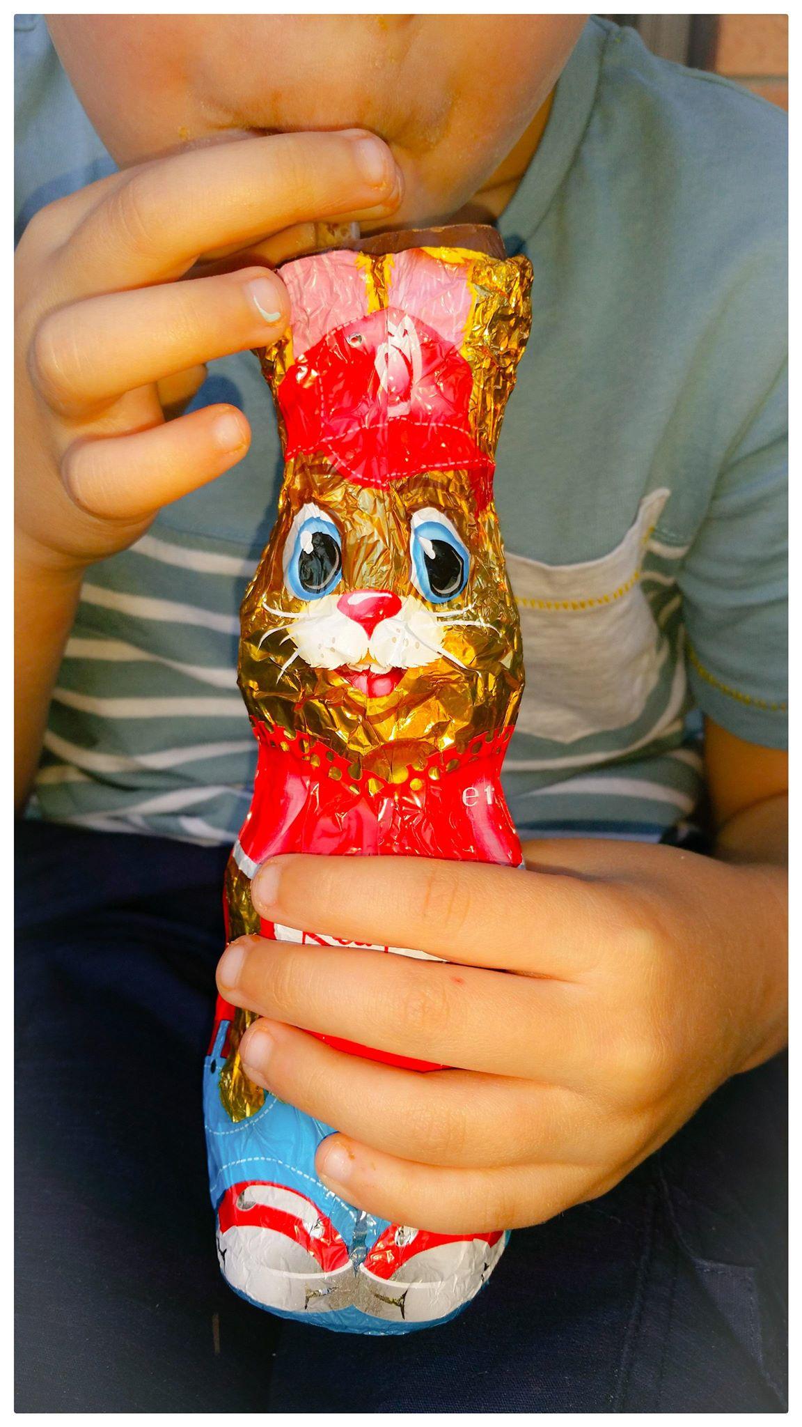 Easter choc bunny 2