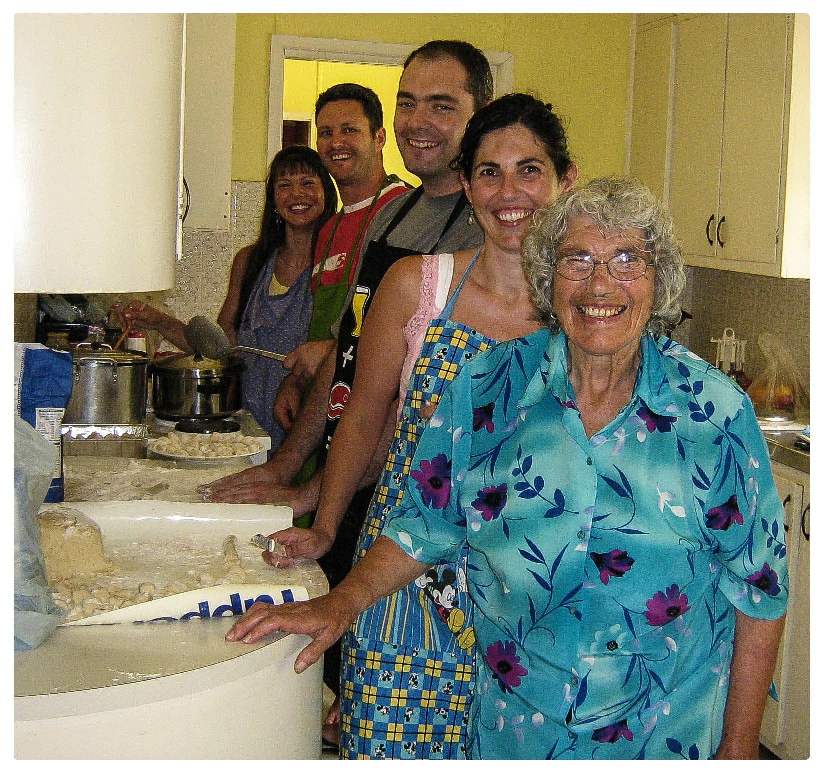 Gnocchi with Nonna