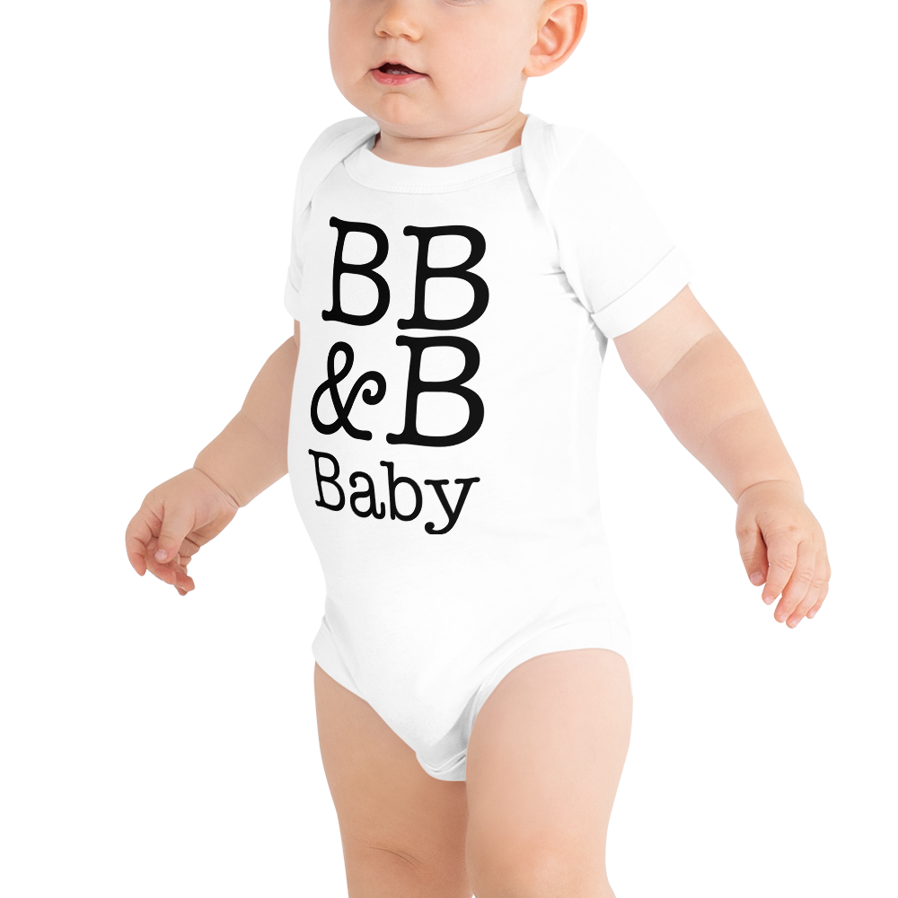 Bb B Baby Onesie Books Bourbon Bacon This decadent and delicious french pastry inspired collection brings the regality of a popular french dessert with the cuteness on brand with bb and b! bb b baby onesie books bourbon bacon