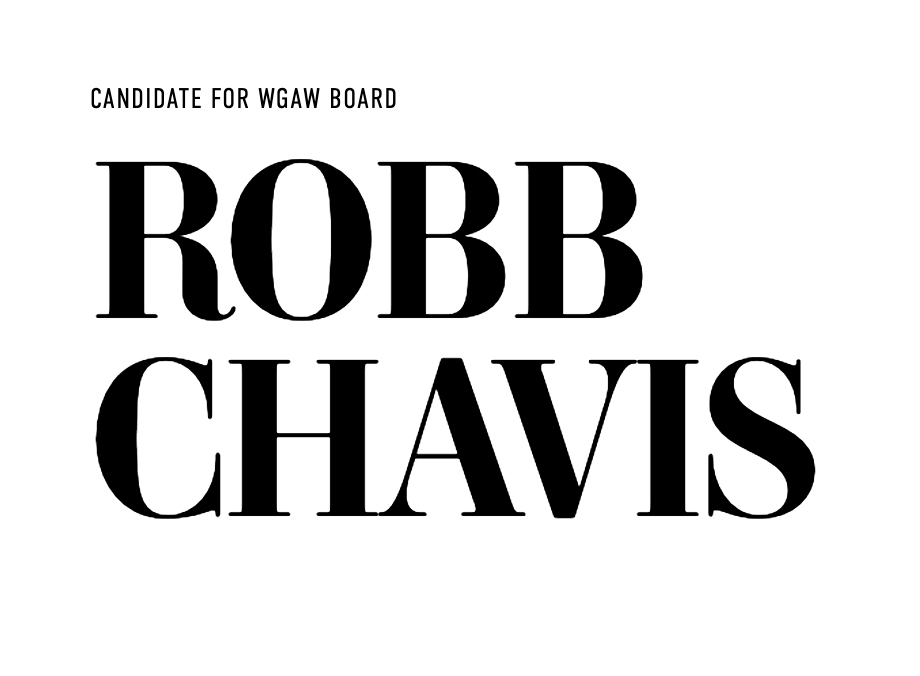 Robb Chavis for WGAW Board