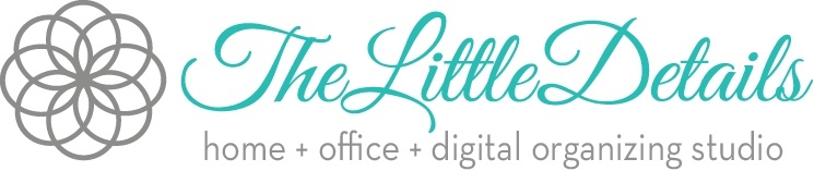 The Little Details home + office + digital organizing studio