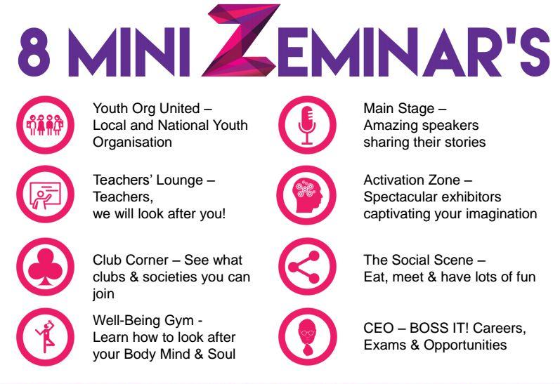 Zeminar Logo Info Graphic