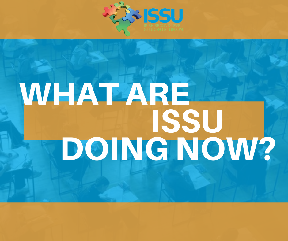 What Are Issu Doing Now Issu Irish Second Level Students Union