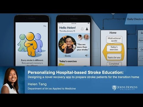 Master S Thesis Presentation Personalizing Hospital Based Stroke Education By Helen Tang Sciartnow