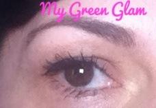 Boho green liner black