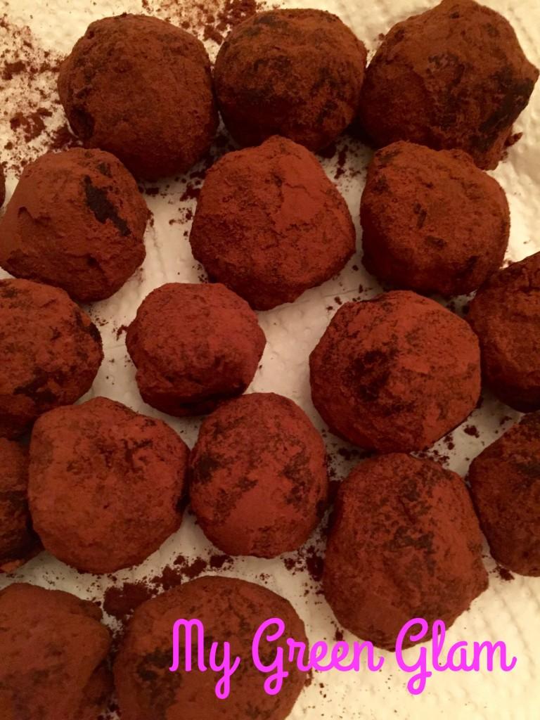 truffes sans beurre ni crème