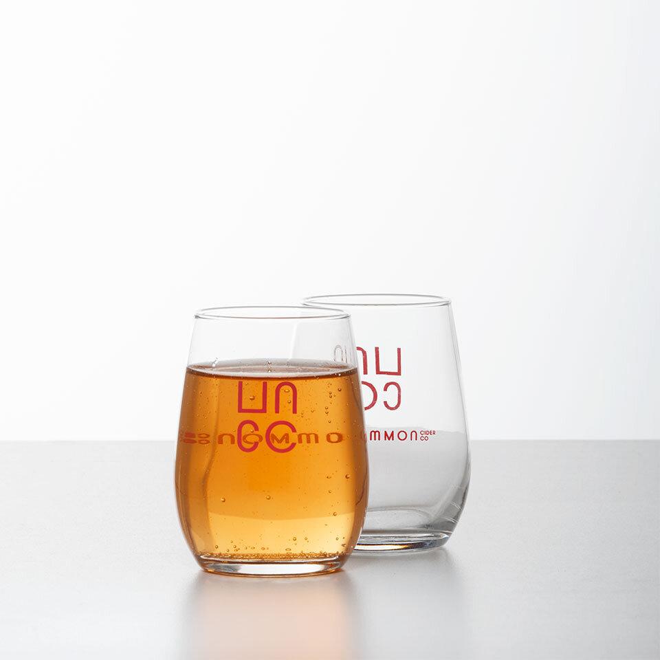 6oz Taster Short glass   Uncommon Cider