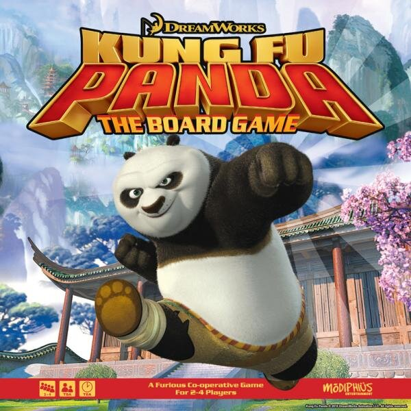 Kung Fu Panda Boxed Board Game January 2020 Release Roll 4