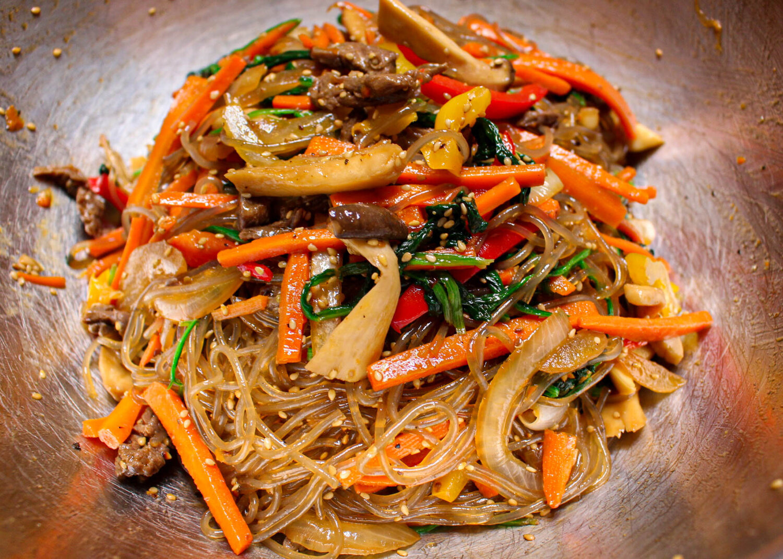 japchae recipe vietnamese The BEST Japchae Recipe (Korean Glass Noodle Stir Fry)  잡채