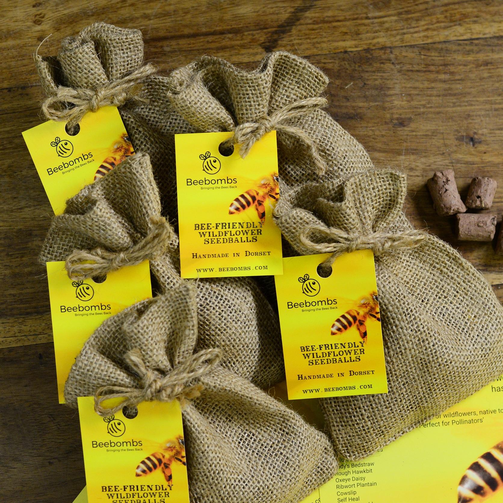 Beebombs Handmade Wildflower Habitat Seedballs #bringthebeesback 1