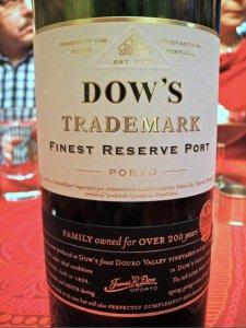 Dow's Trademark Finest Reserve Port viinipullo
