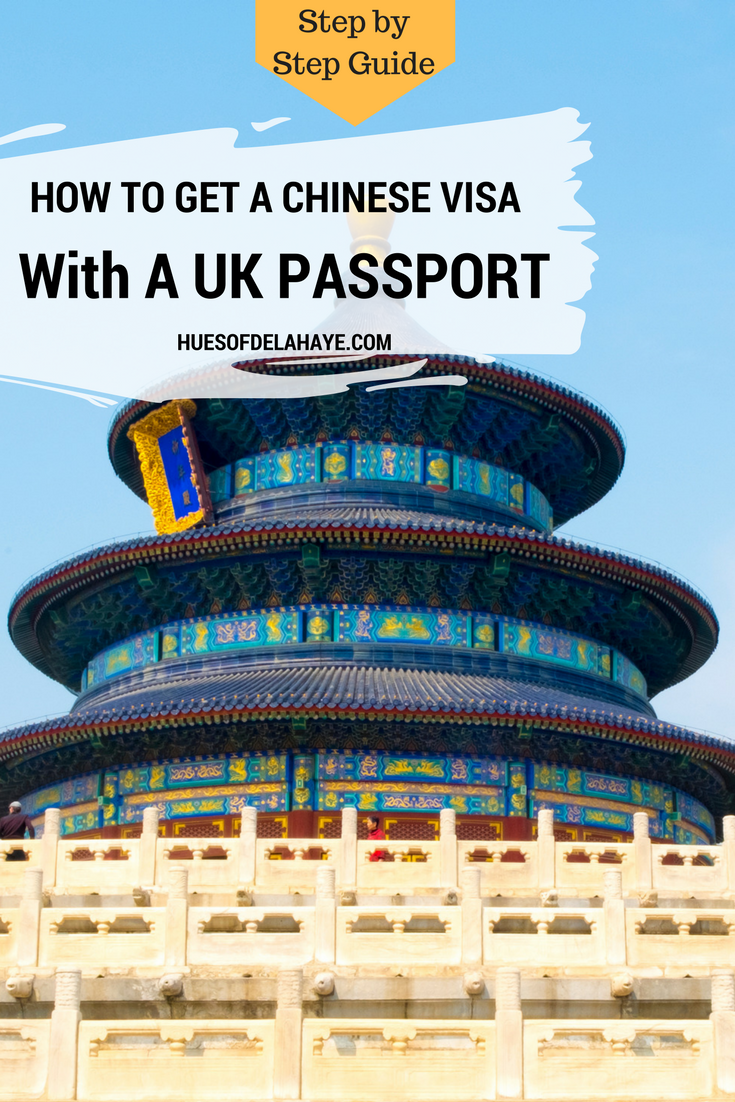 Temple of Heaven | HOW TO GET A CHINESE VISA WITH A UK PASSPORT