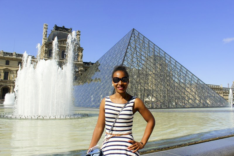 The Louvre | How I Saved Money to Go Travelling (Interrail) Through Europe!