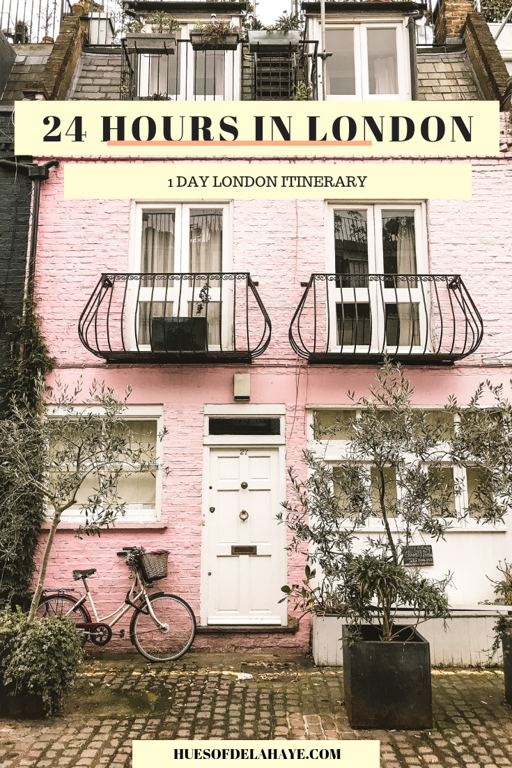 1 Day London itinerary 24 hours in London
