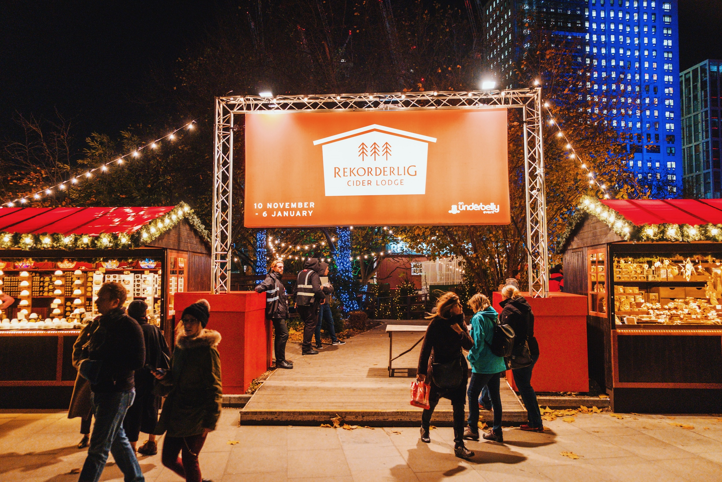 SouthBank Christmas Market | Three of the best Christmas markets in London that you must visit