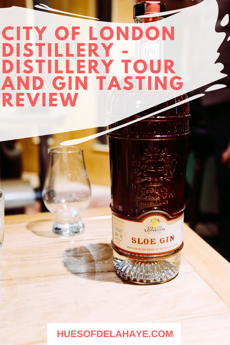 City of London Distillery - Distillery Tour and Gin Tasting Review