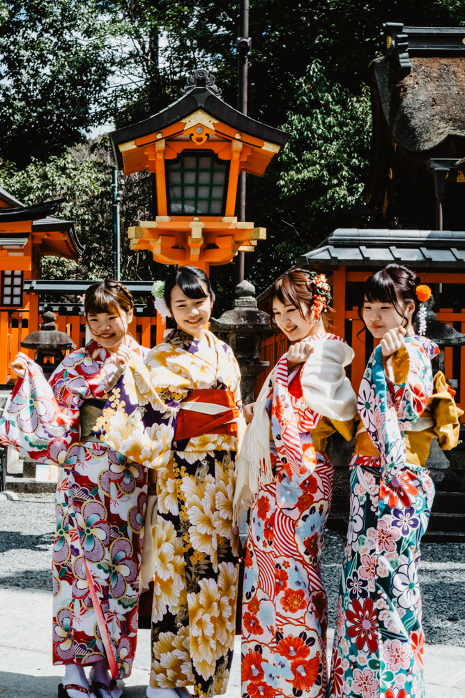 Fushimi Inari Taisha, Torii Shrine in Kyoto