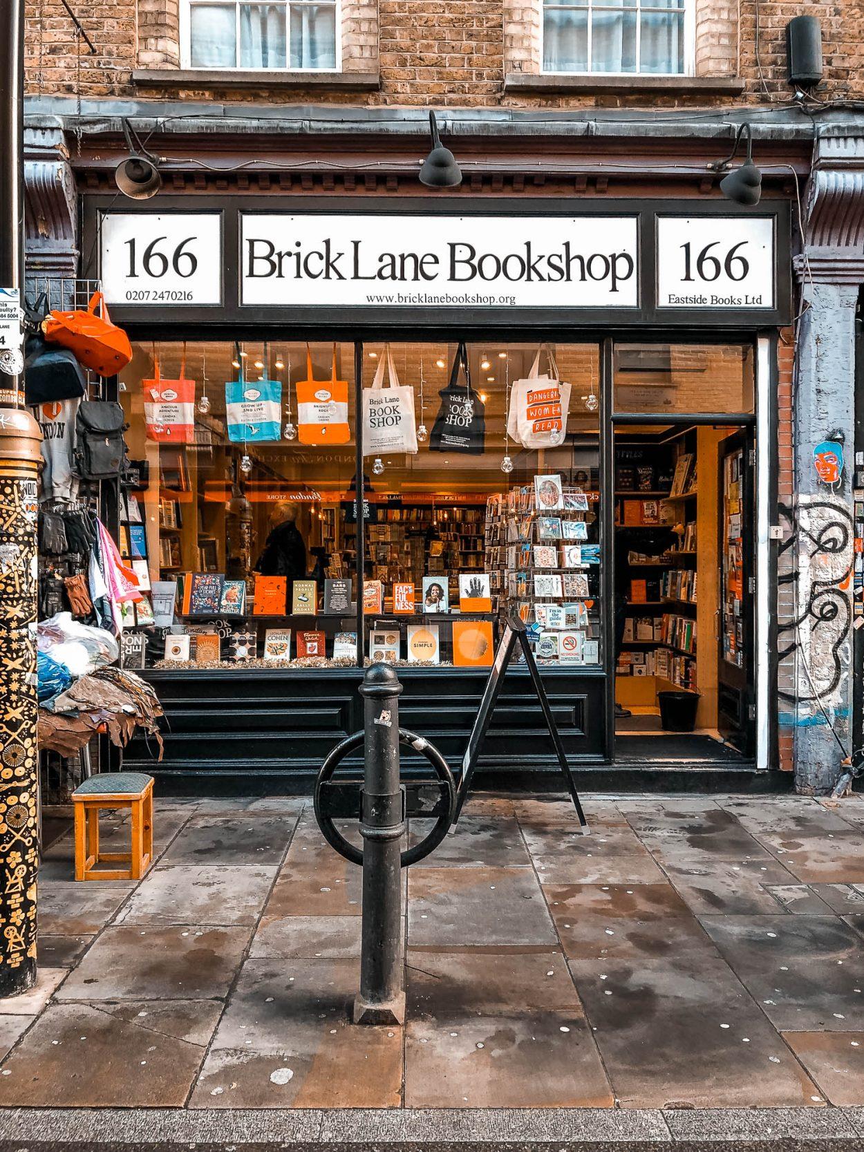 Things to do Brick Lane - Brick Lane Bookshop