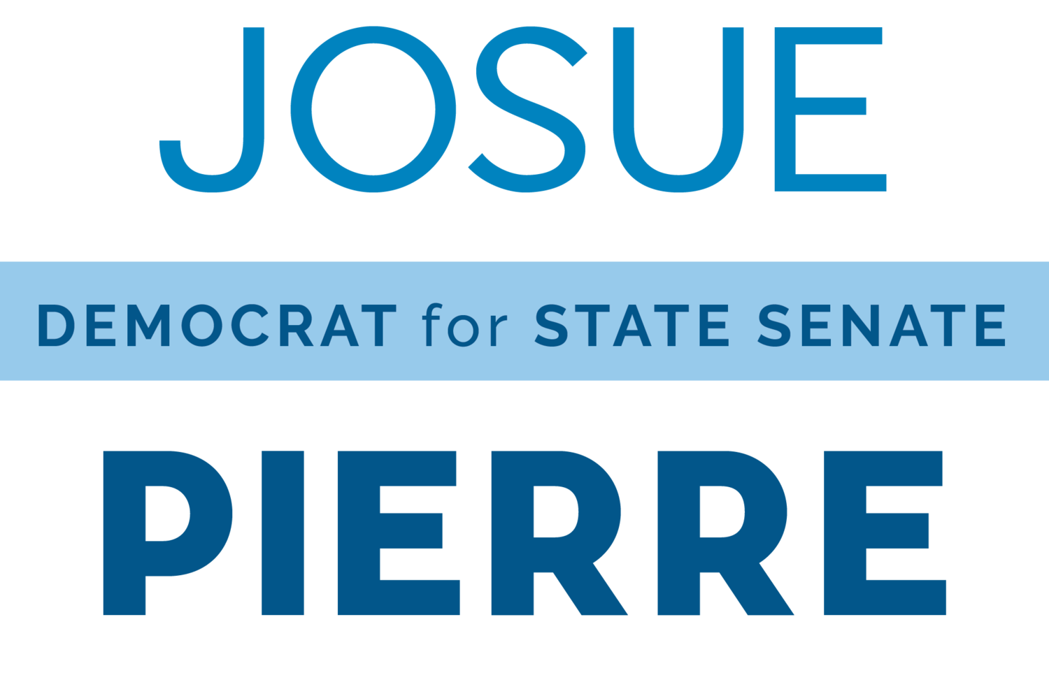 Josue Pierre for State Senate