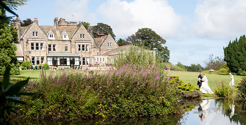 wedding venue Grinkle Hall hotel, easington