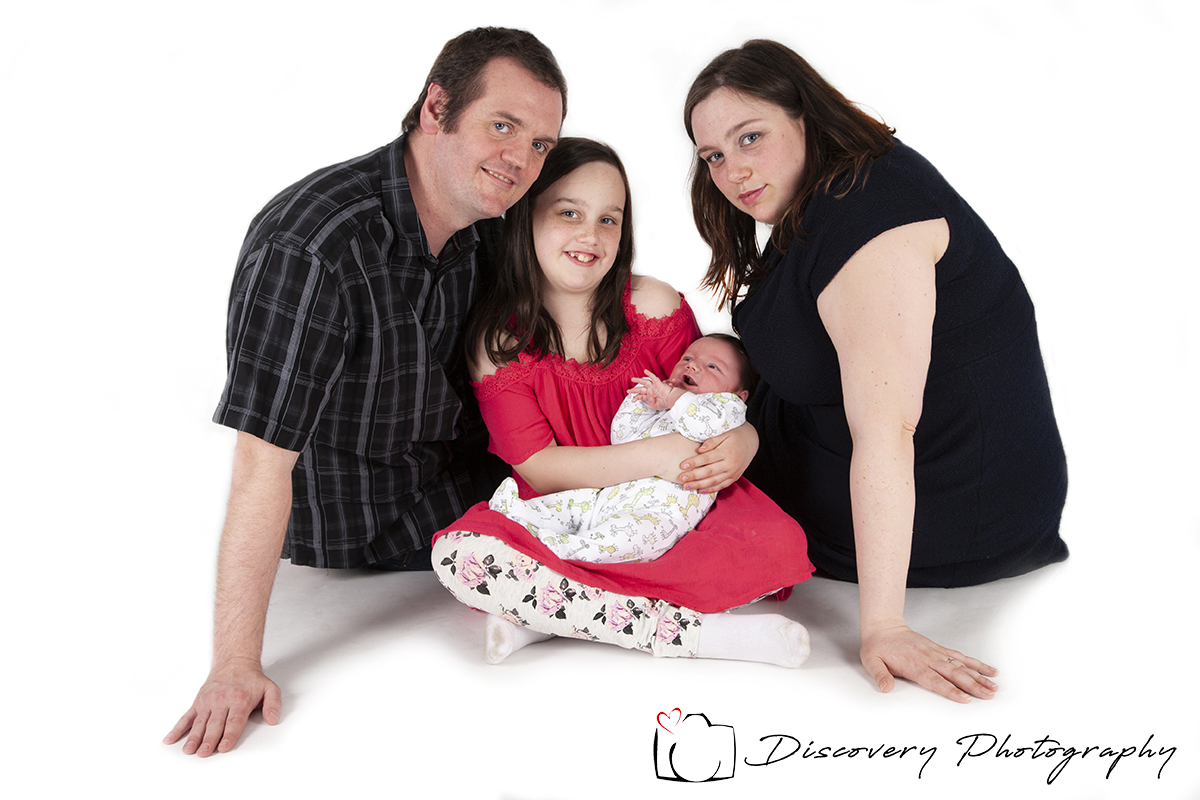 Family portrait photography Group
