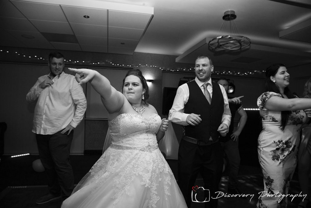 Saltburn golf Club wedding photographer first dance