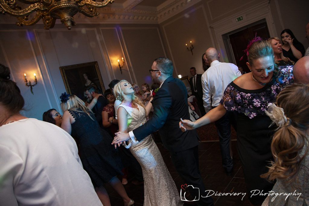 Crathrone Hall wedding photography first dance