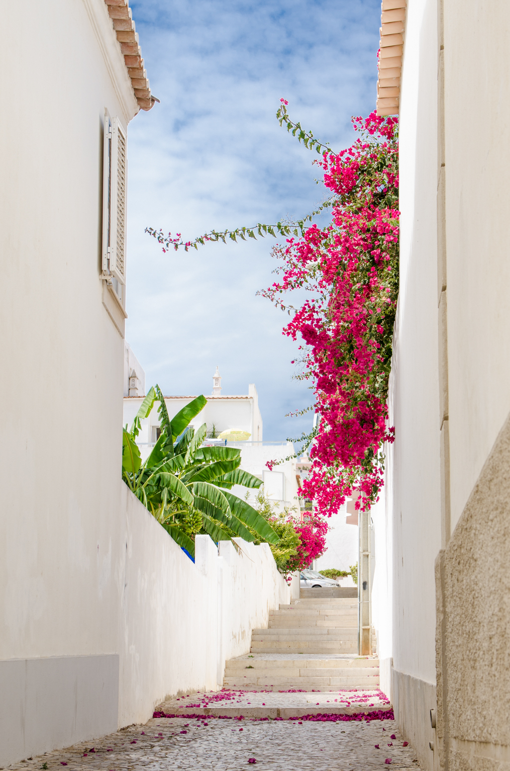 Streets of Albufeira, Portugal