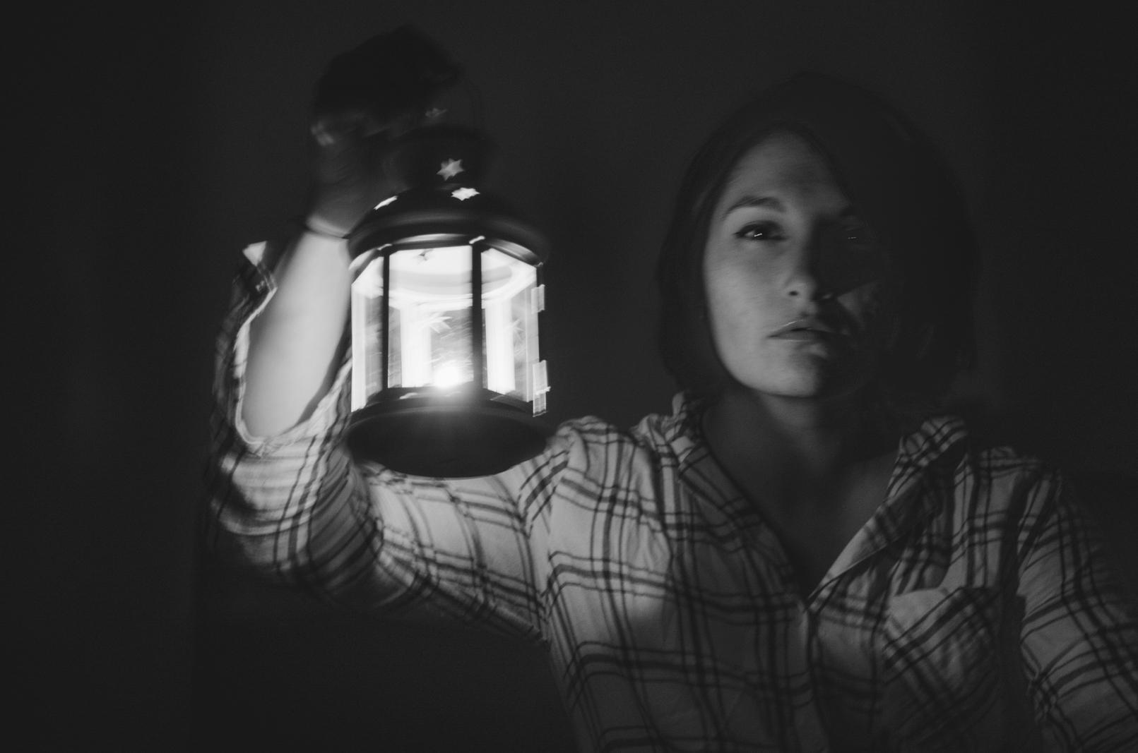 Self portrait blurry